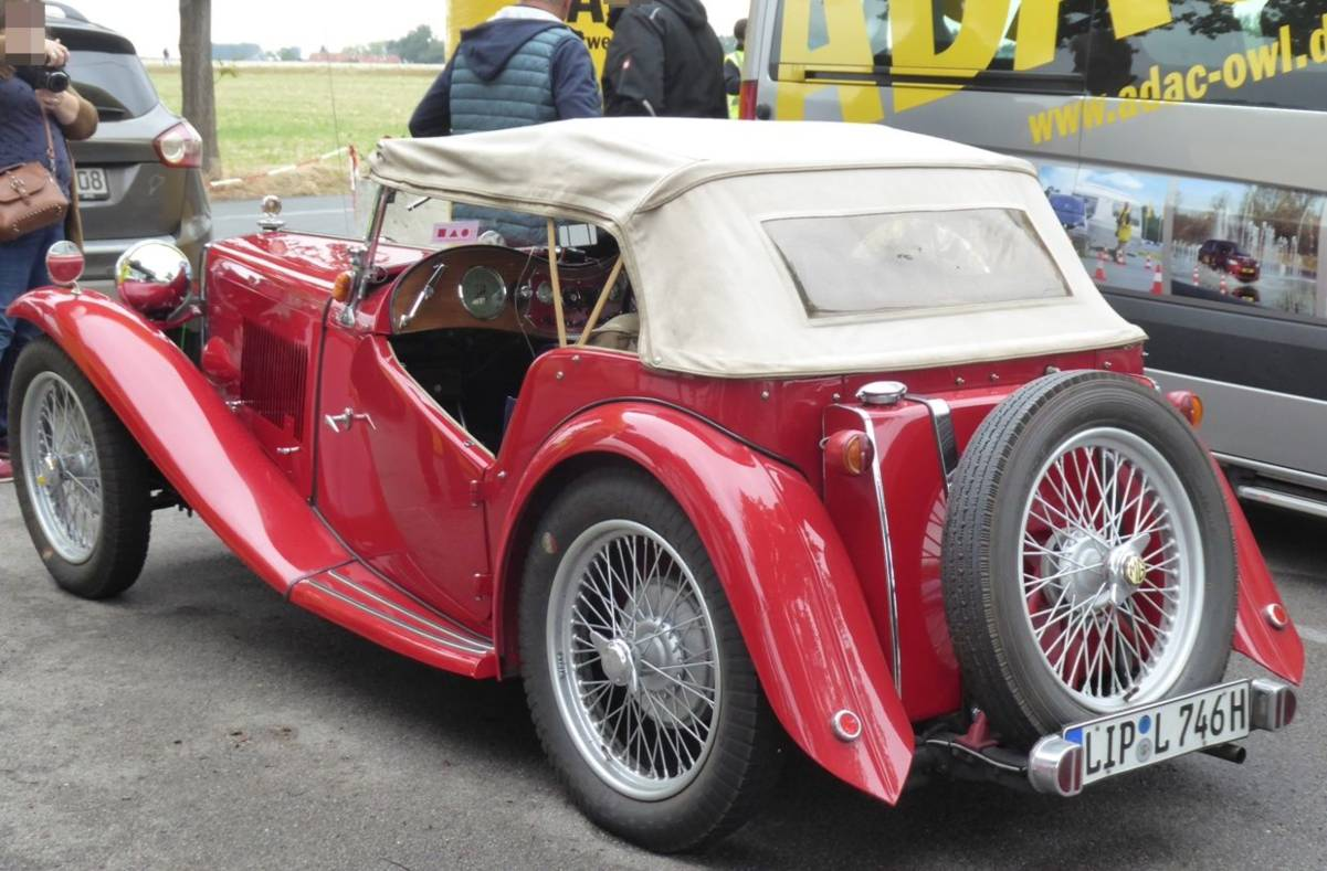 1 - Der knuffige MG TC Supercharged 1946